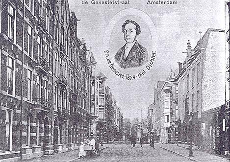De Genestetstraat 1912