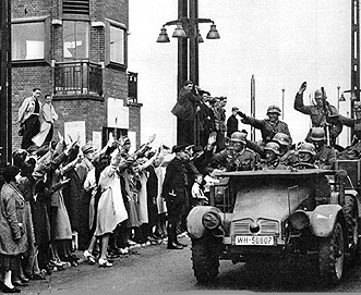 Intocht duitse troepen 1940