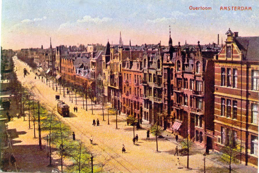 De Overtoom rond 1900