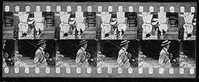 Duplex half frame film