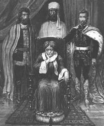 HPBlavatsky и нејзините господари Morya, Koot Hoomi и принцот Ragoczy