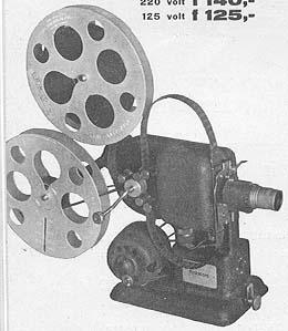 Polistill Tondo CT80 Junior Italien design filmprojector