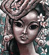 'Bali girl', by Sonnega